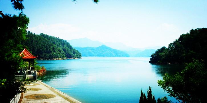 千岛湖中心湖区,大奇山森林公园,瑶琳仙境,通天飞瀑二
