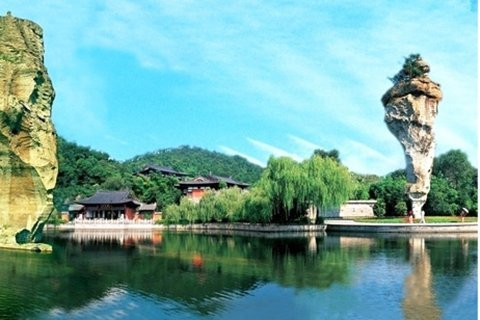 柯岩鉴湖鲁镇景区里景点的来源 图片合集