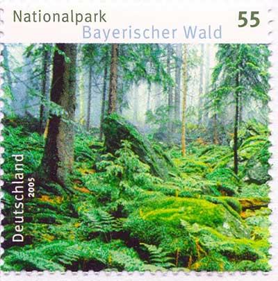 巴伐利亚森林国家公园邮票