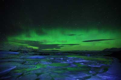 冰岛看极光的时间