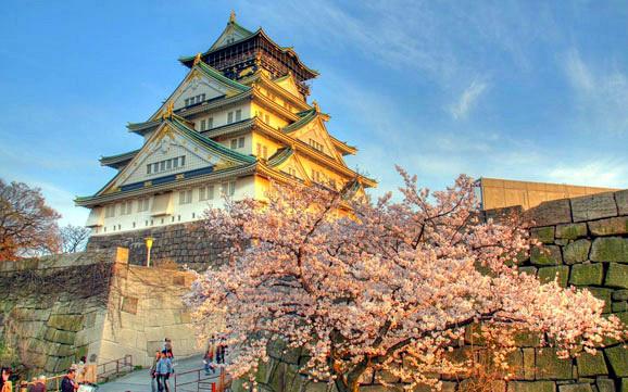 大坂旅行风景图片