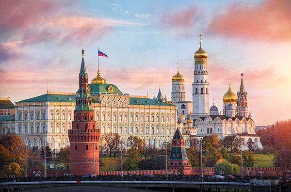 俄罗斯莫斯科+圣彼得堡7天双城之恋