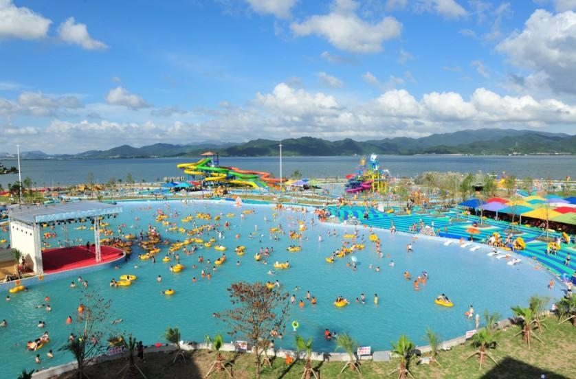 象山最美海滨、东门渔岛、东钱湖水世界激情泼水Party、激情漂流双水尊享二日游