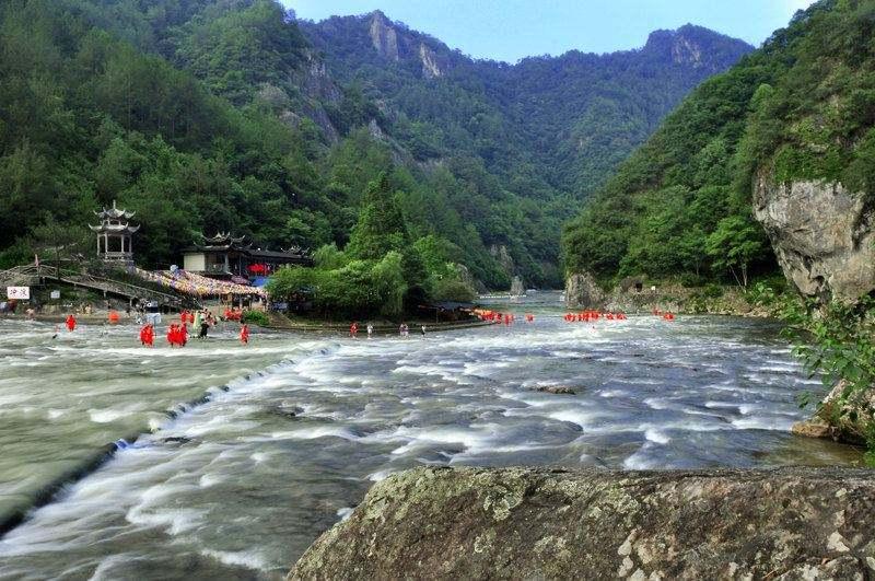 【中旅自组】宁德白水洋、鸳鸯溪、霞浦、太姥山双动纯玩四天