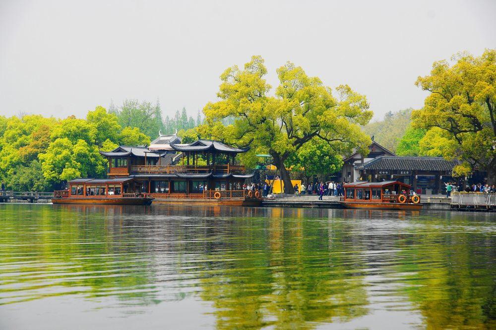 【8月】杭州西湖 灵山风水洞 秀美江南一日游