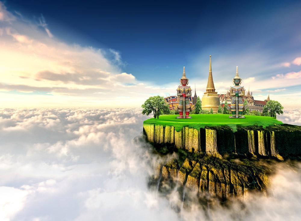 【中旅自组】泰国曼谷、芭提雅泰爱物语五晚六天