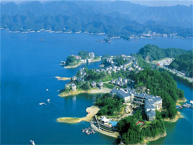 5A千岛湖中心湖/城中湖(登孔雀岛)纯玩度假三日游